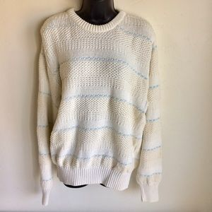 Boathouse Row 100 Cotton Sweater Size L